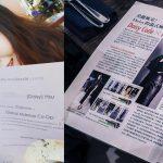 BMC彩妝畢業生DAISY HSU在台灣彩妝界端出她的調色盤。登上VOGUE雜誌,夢想起飛。